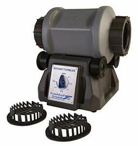 ROTARY TUMBLER for Cleaning Polishing Brass Reloading Gray By FRANKFORD ARSENAL $204.59