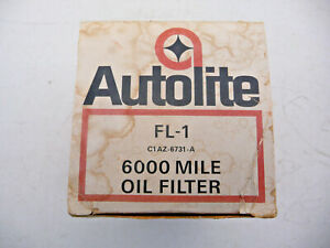 Ford Nos Original Autolite Oil Filter Ford Musting Fairlane Shelby Boss Fomoco