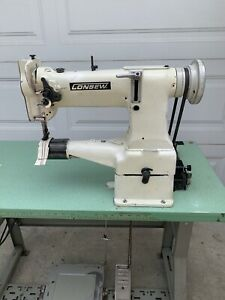 Consew 227r 2 Cylinder Arm Walking Foot Industrial Sewing Machine