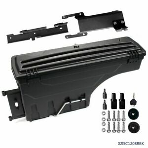 Rear Right Side Truck Bed Storage Box Toolbox Fit For 2015 2019 Ford F150 Pickup