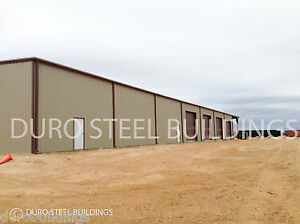 Durobeam Steel 72 x120 x18 Metal Clear Span Building Prefab Made To Order Direct