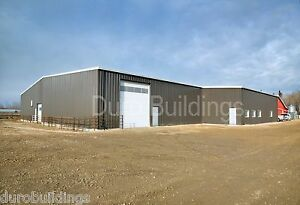 Durobeam Steel 80 x120 x16 Metal Clear Span I beam Building Made To Order Direct