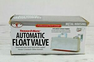Trough o matic Water Tank Float Valve Controlled Watering For Stock Tank Unused