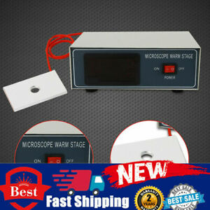 Digital Slider Warmer 110v Microscope Constant Heating Plate Thermostat Control