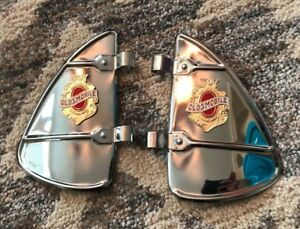 Pair Of Oldsmobile Vintage Auto Parts Window Mounting Part