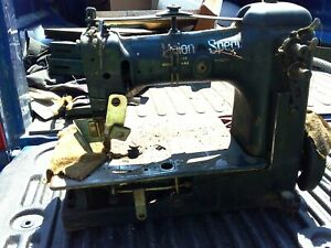 Union Special Industrial Sewing Machine Singer Transmitter Switch W table Etc