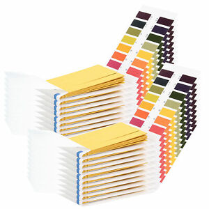 Ph Test Strips 1600 Strips Professional Universal Ph 1 14 Test Paper For N5r8