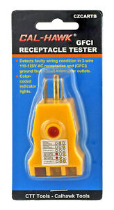 Gfci Outlet Receptacle Tester Faulty Ground Fault Plug Electrical Wire Finder