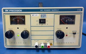 Bk Precision 1746 Dc Power Supply Single Output 0 16v 10a Load Tested