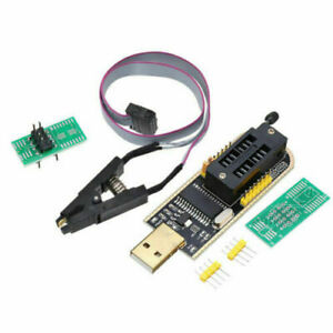 Ch341a Eeprom Bios Usb Programmer Flash With Sop8 Test Clip Adapter