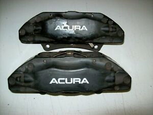 2007 2008 07 08 Acura Tl Type S Driver Passenger Front Brembo Brake Calipers