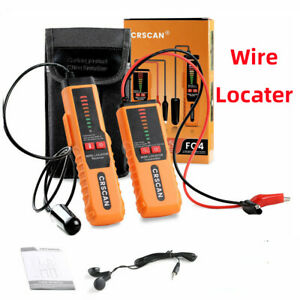 Underground Cable Detector Wire Locator Cable Open Circuit Check Crscan F04
