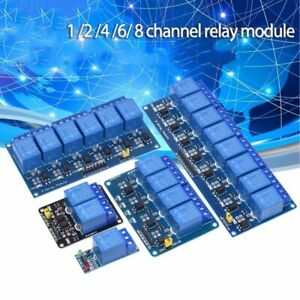 4 6 8 Way Low Level Relay Module Modules Solid State Relay Module Extend Board