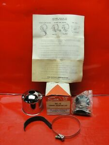 Vintage Nos 1960s Sun Nc 5 Chrome Tachometer Mounting Cup Day 2