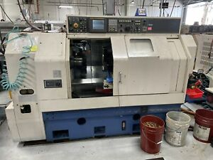 Miyano Bnj 42s Multi Axis Cnc Lathe 2007 Live Tool Dual Turret 5k Rpm Spindle