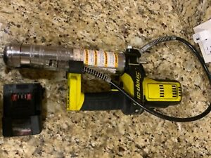 Snap On 18 V Monsterlithium Yellow Grease Gun With Battery Cgg8850