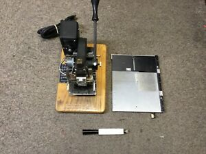 Kingsley M 75 Hot Foil Stamping Embossing Machine Pre owned Not Tested A