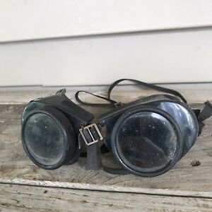 Vintage Welding Safety Goggles Steampunk Glasses Cool