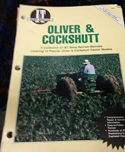 Oliver Cockshutt It A Collection Of Shop Service Manual 13 Tractor Models