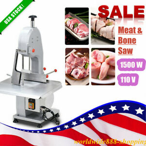 1500w Commercial Electric Meat Bone Saws Frozen Meat Bone Cutting Sawing Machine