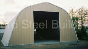 Durospan Steel 40 x24 x18 Metal Building Diy Home Kits Open Ends Factory Direct