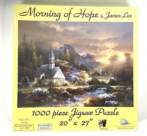 Puzzle Morning of Hope by James Lee 1000 Piece Jigsaw 20quot; x 27quot; $19.99