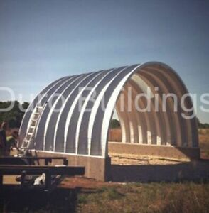Durospan Steel 25 x25 x10 Metal Building Diy Home Kits Open Ends Factory Direct
