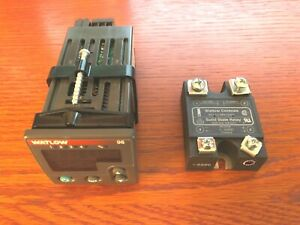 Watlow 96 Temperature Controller 96 With Solid State Relay Ssr 24010a dc1