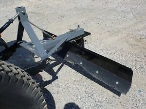 New Titan 72 Grader Blade For Compact Tractors 3 Pt Hitch Adjustable Angle