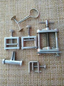 Hose Cock Clamp And Clamp Lot Fisher Castaloy Ps Precision Humboldt Others