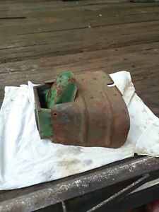 Vintage John Deere Tractor Pto Bracket Casting With Flipper And Shield Cover