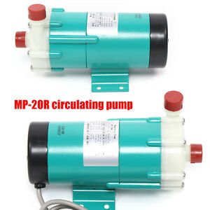 110v Industrial Mp 20r Magnetic Drive Circulating Water Pump For Chemical 7 Gpm