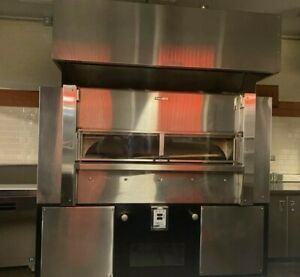 Wood Stone Ws fd 8645 Fire Deck Pizza Oven W Exhaust Hood Nat Gas