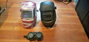 Miller Classic Series And Others Welding Helmet Lot