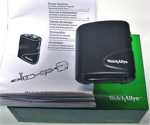 Welch Allyn 75200 Portable Power Pack Source For Lumiview Headlight Nos