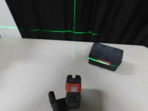 Hilti Laser Level Pm 2 lg Green Line Laser W Magnetic Holder And Pouch eb97