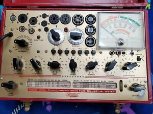 Hickok 800a Tube transistor Tester working