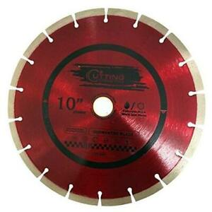 Cutting Pro 10 Inch Dry Or Wet Cutting General Purpose Power Saw Segmented