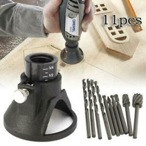 Router Drill Bits Rotary Burrs Tool Wood Stone Metal Root Carving Milling Cut b