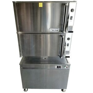Cleveland 36cgm16300 Natural Gas Double Steam Oven 115v