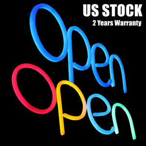 Business Led Neon Lamp Sign open Integrative Bright Led Store Shop Advertising