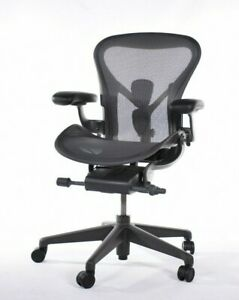 Authentic Herman Miller Aeron Chair Size a Design Within Reach
