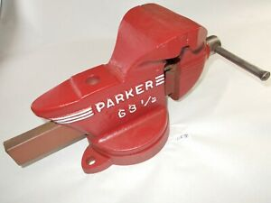 Vise Parker No 63 1 2 Swivel Bench Vise 3 1 2 Wide Jaws Opens To 3 1 2 Usa