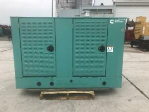 __60 Kw 3 Ph Cummins Generator Set Year 2008 12 Lead Reconnectable 705 Hours