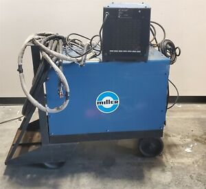 Miller Dialarc Hf Ac dc Constant Current Arc Welding Power Source W coolmate 3