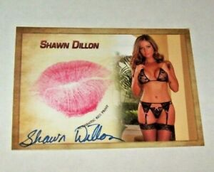2020 Collectors Expo Model Shawn Dillon Autographed Kiss Card $22.95