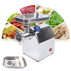 850w Electric Stainless Steel Meat Grinder Mincer Heavy Duty Capacity 170kg h
