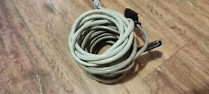 Lot Of 5 25 Pair Amphenol Cat3 Trunk Cable 50 pin Male To Blunt Pbx Amp 5 5 Ft