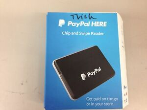 Paypal Here Chip And Swipe Card Reader Black pcsusdcrt new
