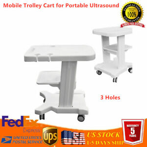 Portable Tool Cart Mobile Trolley Cart Ultrasound Imaging System Scanner Usa New